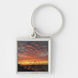 Beach Sunset Keychain