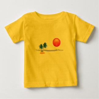 Beach Sunset Landscape Baby T-Shirt