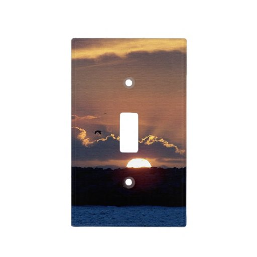 Beach Sunset Light Switch Cover Zazzle