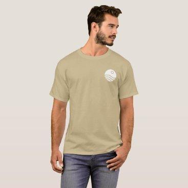 Beach Themed Beach Sunset Logo T-Shirt