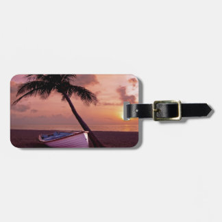 Beach Sunset Tags For Bags