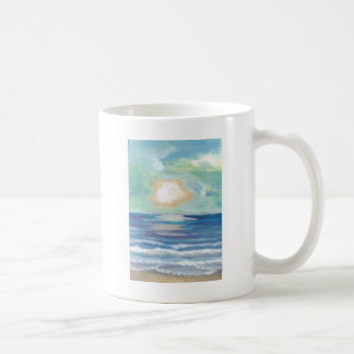 Beach Sunset Ocean Sea Surf Sun Gifts Coffee Mug