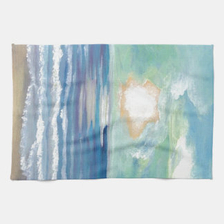 Beach Sunset Ocean Sea Surf Sun Gifts Hand Towel