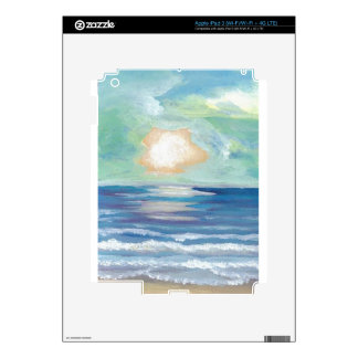 Beach Sunset Ocean Sea Surf Sun Gifts Decals For iPad 3