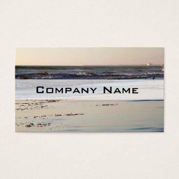 Beach Themed Beach Sunset Ormond Beach Business Card