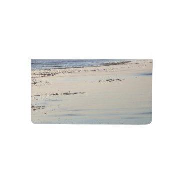 Beach Themed Beach Sunset Ormond Beach Checkbook Cover