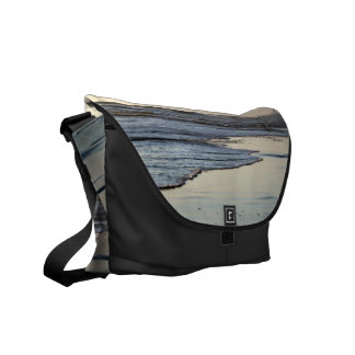 Beach Sunset Ormond Beach Courier Bags