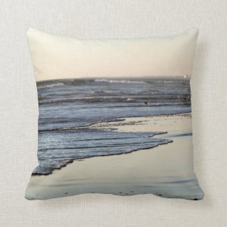 Beach Sunset Ormond Beach Pillows
