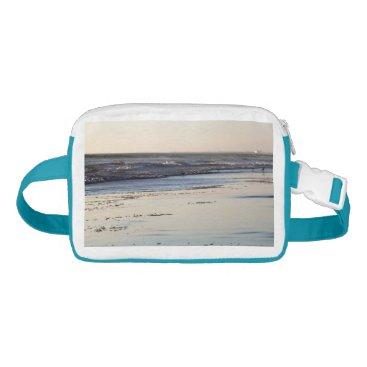 Beach Themed Beach Sunset Ormond Beach Waist Bag