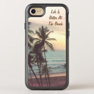 beach sunset OtterBox symmetry iPhone 7 case