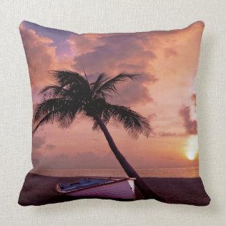 Beach Sunset Pillow