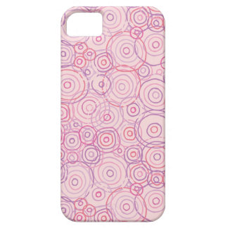 Beach Sunset Pink Outlines iPhone SE/5/5s Case