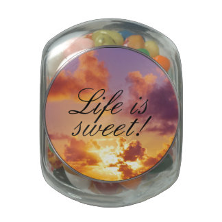 Beach Sunset Wedding Special Jelly Belly Candy Jars