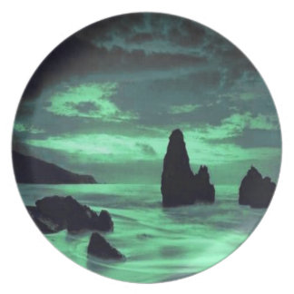 Beach, Surf and Stone Dinner Plate