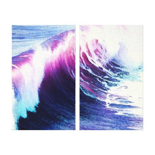 Beach Surf Canvas Print