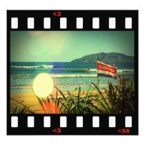 beach- surf costa rica photo print