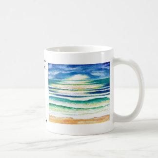 Beach Surf - CricketDiane Ocean Waves Art Products Coffee Mug