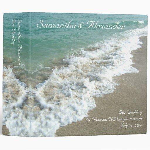 Beach Surf Destination or Cruise Wedding Binder