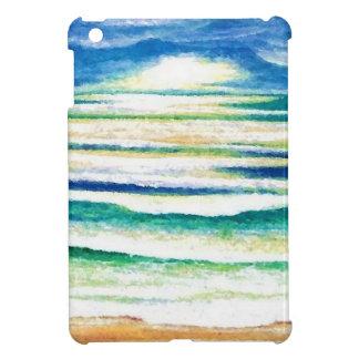 Beach Surf Ocean Waves Beach Decor Sunrise iPad Mini Cases