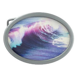 Beach Surf Oval Belt Buckle