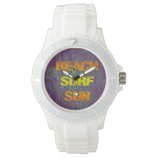Beach Surf Sun Wrist Watch