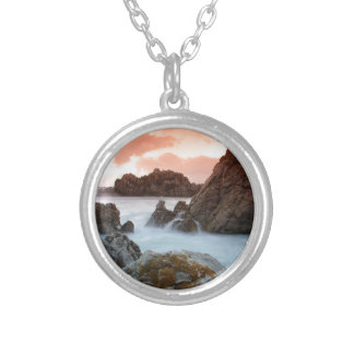 Beach Surreal Sundown South Africa Necklaces