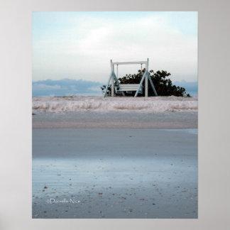 Beach Swing Print