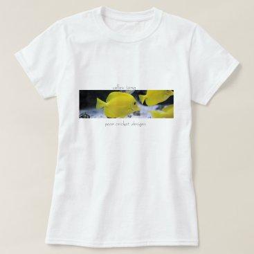 Beach Themed beach t-shirt for women fish design
