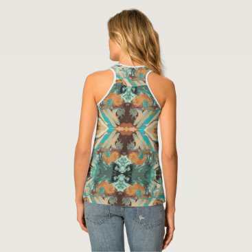 "Beach Themed ""Beach"" Tank Top by Mar from Thleudron"