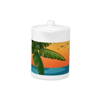 Beach Teapot