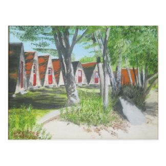Beach Tent-els COTW Postcard