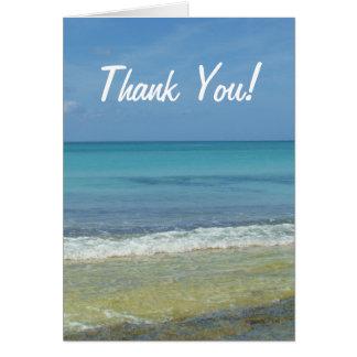 Beach Thank You - Card
