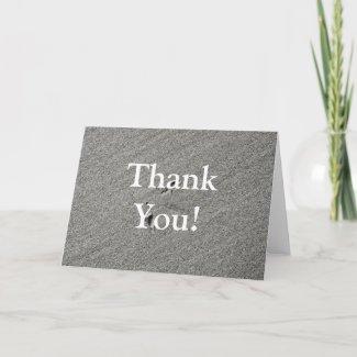 Beach Thank You Card 1 card