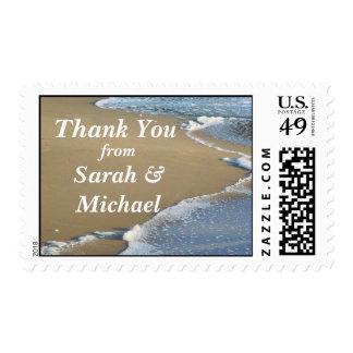 Beach Thank You Stamp