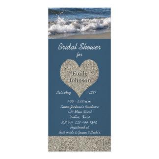 Beach Theme Bridal Shower Invitation Invite