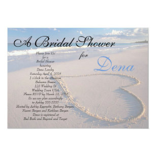 beach themed invitations zazzle