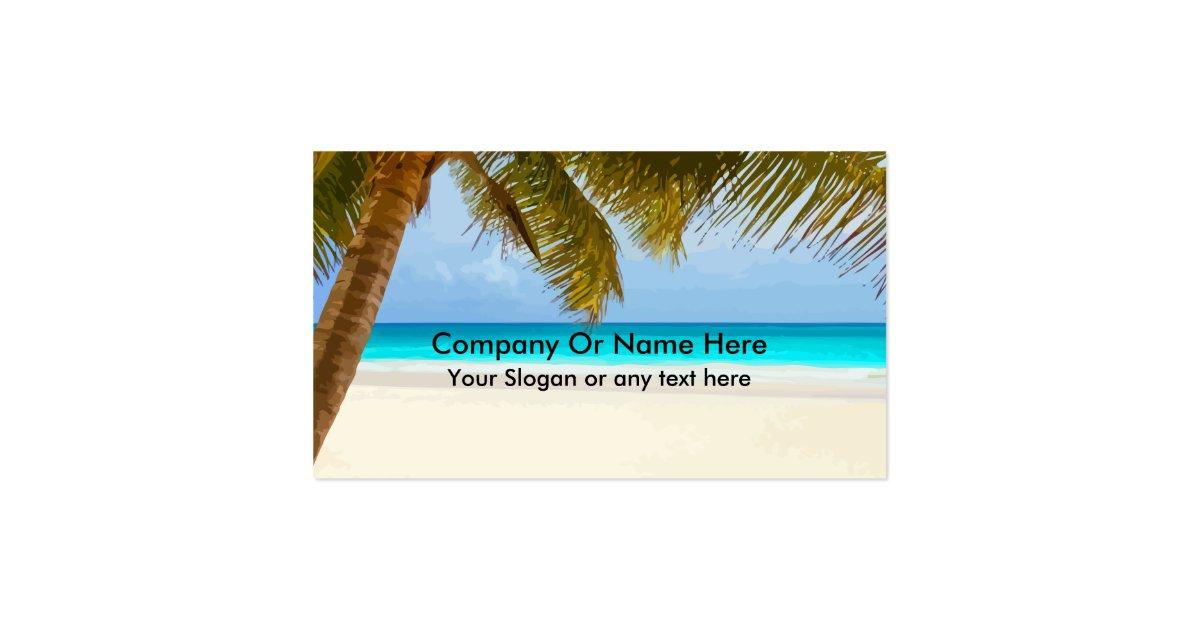Beach theme business cards zazzle for Where can i use my synchrony home design card