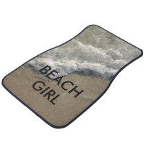 Beach Theme Car Floor Mats