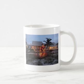 Beach theme Christmas Coffee Mug