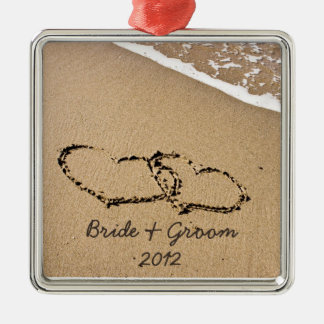 Beach Theme First Christmas Ornament