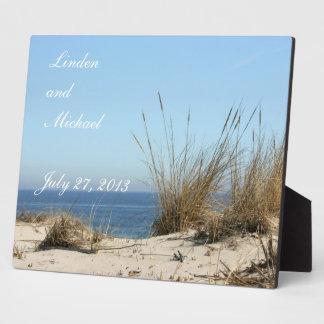 Beach Theme Keepsake Photo Easel Display Plaques