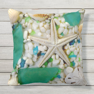 Beach Theme Patio Pillows