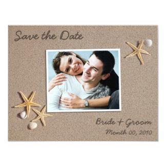 Beach Theme Save the Date Photo Cards