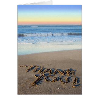 Beach Theme Thank You Card