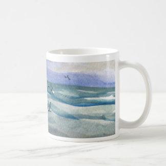 Beach Theme Thank You Coffee Mug
