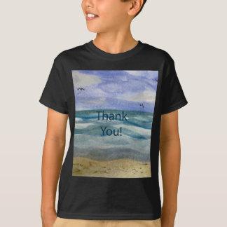 Beach Theme Thank You T-Shirt