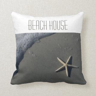 Beach Theme Throw Pillow