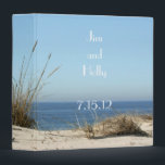 "Beach Theme Wedding  Binder<br><div class=""desc"">The beach,  blue sky,  wonderful wedding day memories binder.  .</div>"