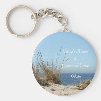 Beach Theme Wedding Key Chain