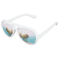 Beach Themed Aviator Sunglasses